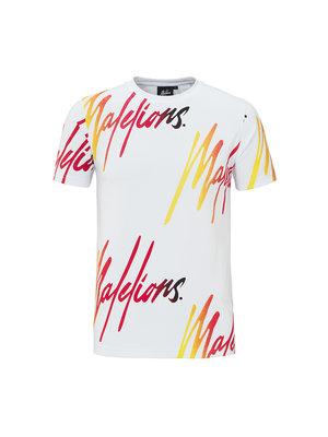 Malelions T-shirt Frenkie – Gradient Orange