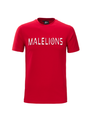 Malelions T-shirt Embossed – Red