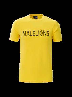 Malelions T-shirt Embossed – Yellow
