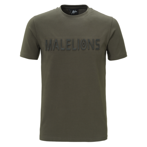 Malelions T-shirt Embossed – Army