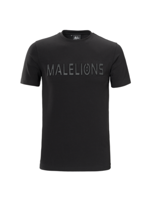Malelions T-shirt Embossed – Black