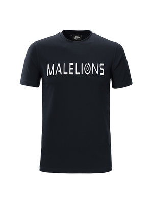 Malelions T-shirt Embossed – Navy