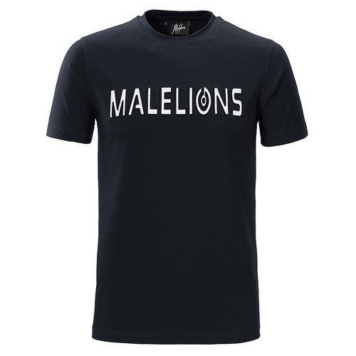 Malelions T-shirt Embossed – Navy
