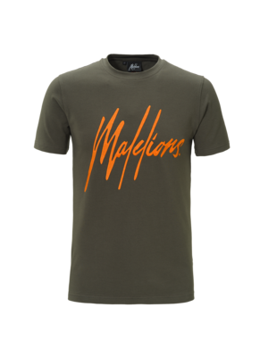 Malelions T-shirt Signature Army