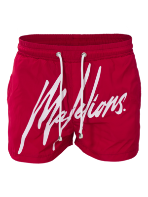 Malelions Swimshort Signature Red