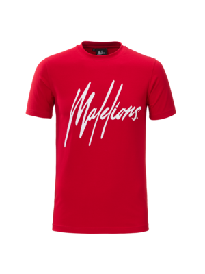 Malelions T-shirt Signature Red