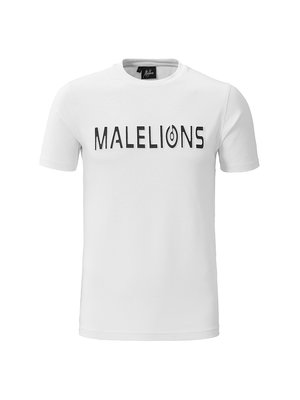 Malelions T-shirt Embossed – White