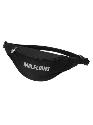 Malelions Malelions Fannypack - Cursief - Black Reflective | PRE-ORDER