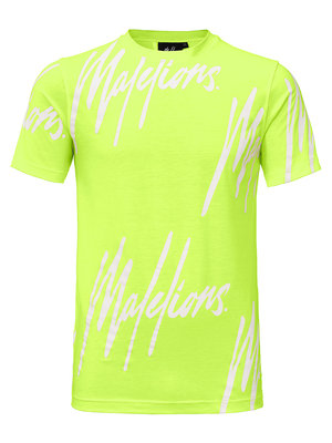 Malelions T-shirt Frenkie - Neon Yellow