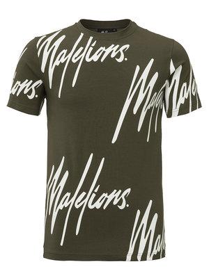 Malelions T-shirt Frenkie - Army
