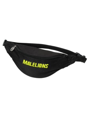 Malelions Fannypack - Cursief - Neon Yellow