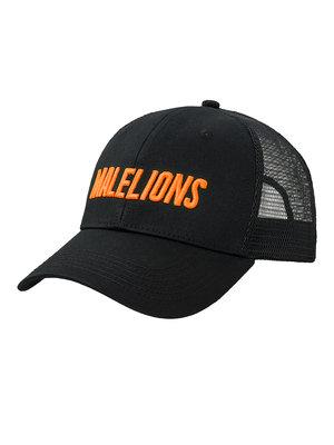 Malelions Malelions Sport Cap - Cursief - Neon Orange