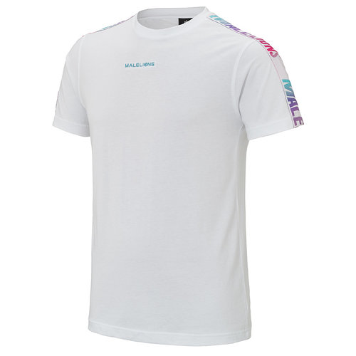 Malelions Tracktee Ryan - White Gradients | PRE - ORDER