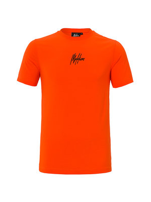 Malelions T-shirt 3D - Orange/Black