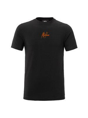 Malelions T-shirt 3D - Black/Orange