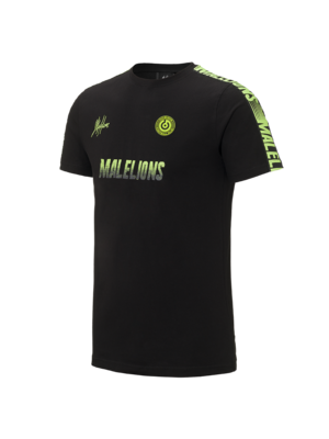 Malelions Sport Sport T-shirt - Homekit - Black/Yellow