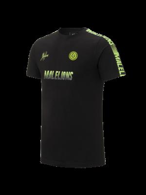 Malelions Sport T-shirt - Homekit - Black/Yellow