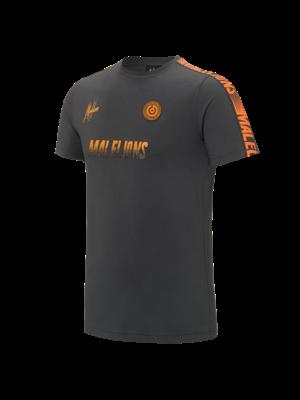 Malelions Sport Sport T-shirt - Homekit - Antra/Orange
