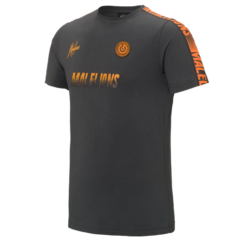 Malelions Sport T-shirt - Homekit - Antra/Orange