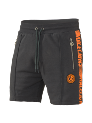 Malelions Sport T-shirt - Homekit - Antra/Orange | PRE-ORDER