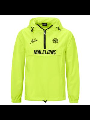 Malelions Sport Sport Windbreaker - Neon Yellow
