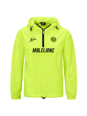Malelions Sport Windbreaker - Neon Yellow