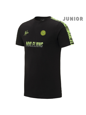 Malelions Junior Junior Sport T-shirt - Homekit - Black/Yellow