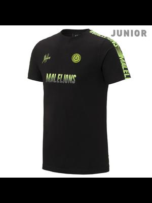 Malelions Junior Sport T-shirt - Homekit - Black/Yellow