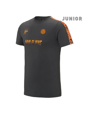 Malelions Junior Junior Sport T-shirt - Homekit - Antra/Orange