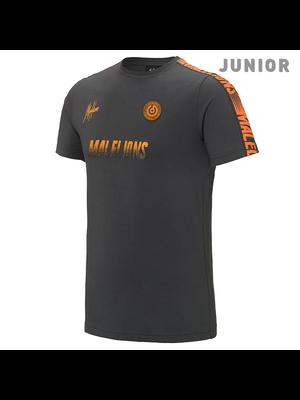 Malelions Junior Sport T-shirt - Homekit - Antra/Orange