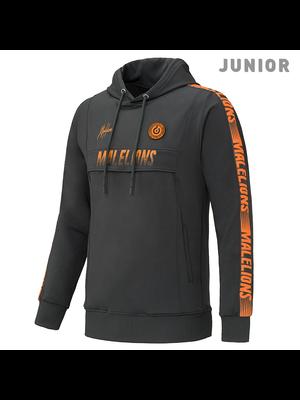 Malelions Junior Sport Hoodie Warming Up - Antra/Orange