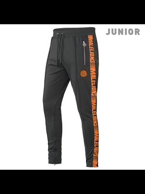 Malelions Junior Sport Pants Warming Up - Antra/Orange