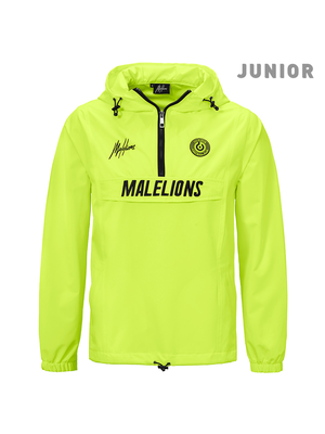 Malelions Junior Junior Sport Windbreaker - Neon Yellow