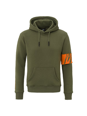 Malelions Captain Hoodie - Army/Orange | PRE-ORDER