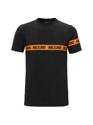 Malelions Captain T-Shirt Karim - Black/Orange | PRE-ORDER