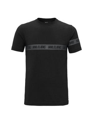 Malelions Captain T-Shirt Karim - Black/Black |PRE-ORDER