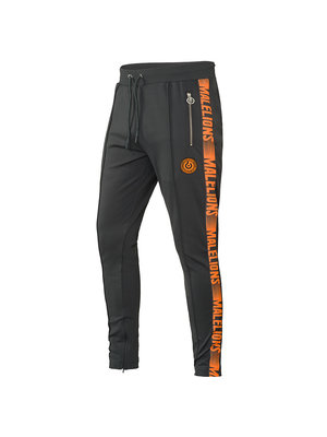 Malelions Sport Pants Warming Up - Antra/Orange