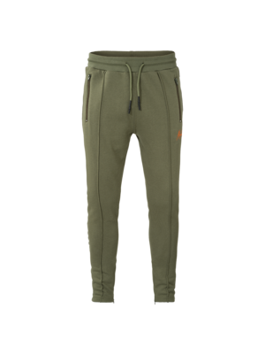 Malelions Trackpants Clarence - Army/Orange | PRE-ORDER