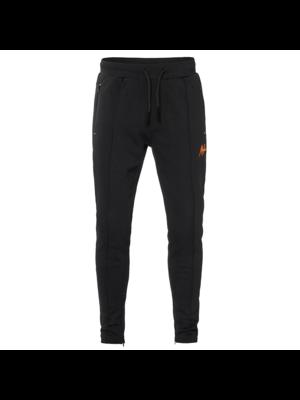 Malelions Trackpants Clarence - Black/Orange | PRE-ORDER