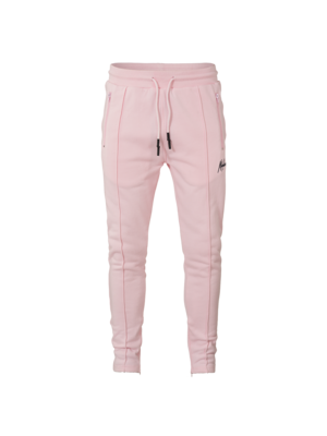 Malelions Trackpants Clarence - Pink/White