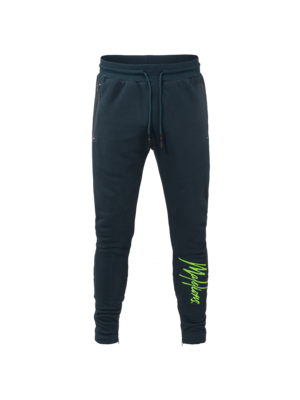 Malelions Trackpants Signature - Navy/Green