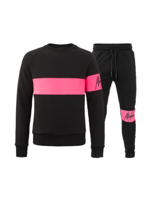Malelions Tracksuit Neon Combi - Pink