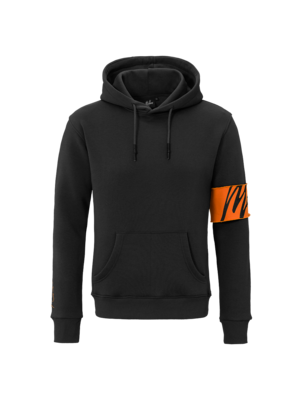 Malelions Captain Hoodie - Black/Orange