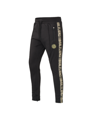 Malelions Sport Sport Pants Warming Up - Black/Gold