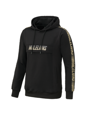 Malelions Sport Sport Hoodie Warming Up - Black/Gold