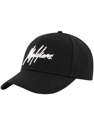 Malelions Baseball Cap Signature - Black/White