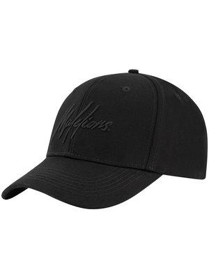 Malelions Baseball Cap Signature - Black/Black