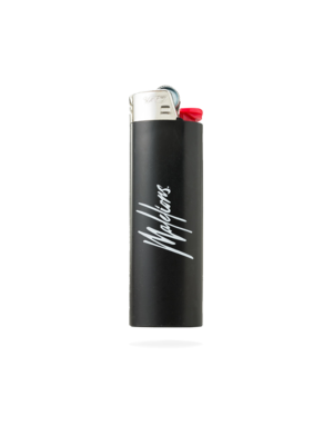 Malelions Lighter Signature Logo - Black