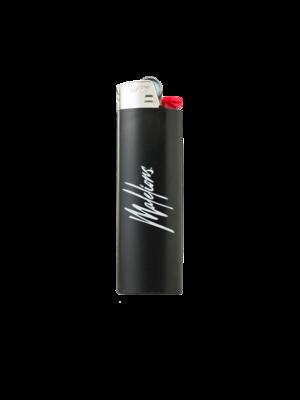 Malelions Lighter Signature Logo - Black