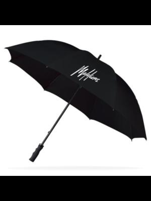 Malelions Paraplu Signature Logo - Black
